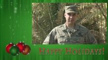 Troop Holiday Greetings