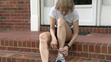 IMAGE: After 30 years and thousands of miles, Raleigh runner not slowing down