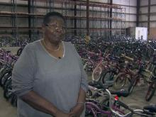 Widow carries on legacy of 'Bicycle Man'