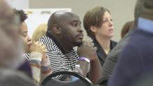IMAGE: Parents and educators discuss Durham school suspension rates