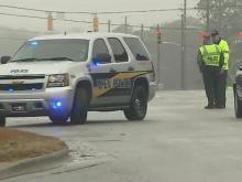 Gas leak prompts evacuations in Apex