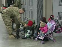 Families cope with deployment over holidays