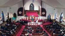 IMAGE: Hundreds pack Raleigh church for Mandela memorial service