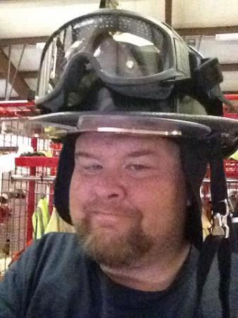 Parkton firefighter David Brody
