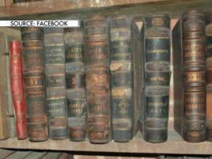 Thousands of documents and records dating to the 1840s that were stored in the basement of the Franklin County Courthouse were destroyed this month after a significant number were damaged by mold, officials said. (Beau Minnick / WRAL)