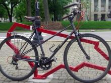 Bike rack, bicycle rack