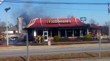 IMAGES: Wilson McDonald's burns on Christmas Day