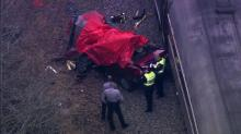 IMAGE: Woman killed when train hits car in Cary