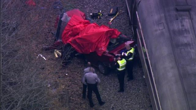 A Laurinburg woman was killed on Jan. 2, 2014, when an Amtrak passenger train hit a car at a rail crossing on Maynard Road in Cary, officials said.