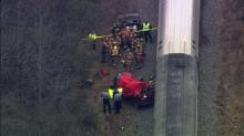 Amtrak crash in Cary