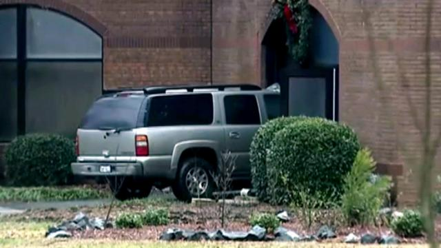 Wake County sheriff's investigators say Jason Terrell Martin crashed an SUV into St. Luke the Evangelist Roman Catholic Church early on June 11, 2014, before setting the sanctuary on fire and then killing himself.