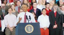 Obama at NC State