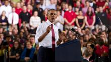 IMAGES: Images: Obama visits NC State
