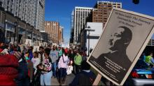 IMAGES: Triangle celebrates MLK Day with marches, service projects