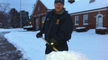 IMAGES: Jan. 29 snow: Fayetteville