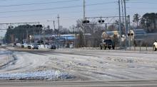 Wilson icy roads