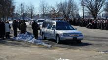 IMAGES: Hundreds mourn passing of Wayne County sheriff