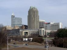 Downtown Raleigh Skyline 2014