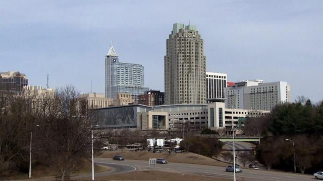 Downtown Raleigh Skyline 2014