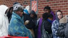 IMAGES: Hundreds in Fayetteville seek help with heating bills