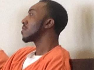 Michael Teon Brown appears in court Feb. 6, 2014. He's charged with two counts of first-degree murder in the shooting deaths of his ex-girlfriend, Jessica Liriano, and her boyfriend, Jerron McGirt.