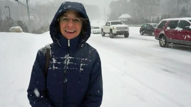 When Susan Pelliccio, a nursing professor at the University of North Carolina at Chapel Hill, tells her students the story of walking 10 miles uphill in the blowing snow, she means it literally.