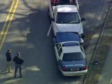 Raleigh officer hurt in crash