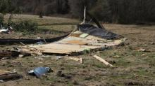 IMAGES: Wayne County families cleaning up after tornado