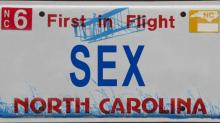 IMAGES: 100 rejected NC license plates