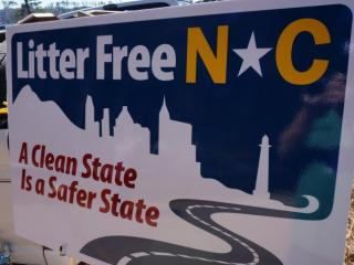 The North Carolina Department of Public Safety on March 10, 2014, launched a statewide initiative called Litter Free N.C. to help reduce littering in the Tar Heel State.