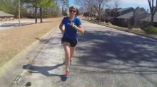 IMAGE: 'Wear Blue' runners to honor fallen soldiers in marathons