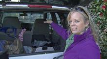 IMAGES: Woman living in stolen car draws focus on plight of Moore Square homeless