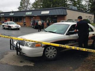 Cary police were investigating the death of a person at 101 Reed Street Saturday.