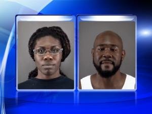 Dreama Alexandria Ferguson, 25, and Andre Amon Thompson, 38