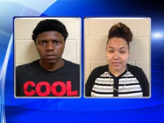 Dejour Peterson, left, and Della Locklear were charged in the death of Tayvon Joseph McMillan, whose body was found April 6, 2014, on Fort Bragg.