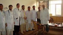 IMAGE: Triangle doctor says Afghanistan violence won't deter medical mission