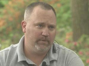 N.C. vet Mike McMichael suffers from PTSD and says a strong support system at home is key to readjusting to life stateside.
