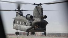 Army CH-47 Chinook helicopter