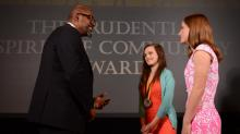 IMAGES: St. Mary's student's service places her on the path to success