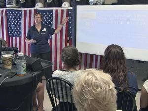 Veterans from Fayetteville to the Triangle gathered Saturday to speak out for better treatment from the VA.