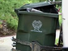 Raleigh trash collection