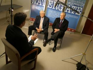 Former Washington Post reporters Bob Woodward and Carl Bernstein sat down with WRAL's Cullen Browder during a visit to Raleigh.