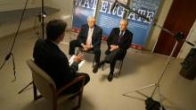 IMAGES: Woodward and Bernstein talk careers, Watergate