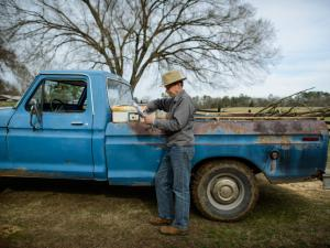 Jon Woolard, who raises cows on a family farm in Lee County, has turned down offers from gas companies to lease his land for drilling.