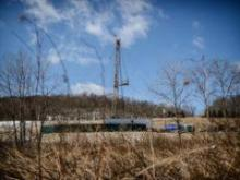Drill rigs like this one, in Dimock, Pa., could become part of the landscape in the Cape Fear region once North Carolina opens the door to horizontal drilling and hydraulic fracturing. The legislature wants to begin issuing permits by next summer.