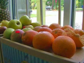 The Galley will feature fruits and vegetables at the front of the store, with sweets in the back.