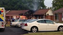 IMAGES: Woman, 90, dies after Fuquay-Varina apartment fire