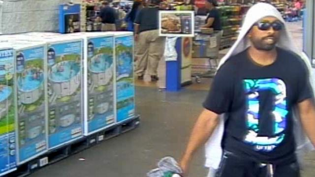 Rocky Mount police say the man in this surveillance image robbed the Walmart Supercenter, at 1511 Bevenue Road.