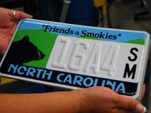 Inside NC's license plate plant