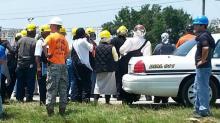 IMAGES: Ammonia leak forces evacuation of Bladen pork plant